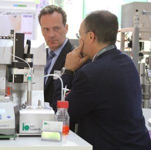 bbi-biotech CEO B.-U. Wilhelm im Gespräch