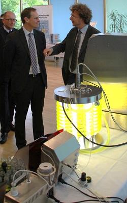 Michael Müller(SPD) und Thomas Wencker