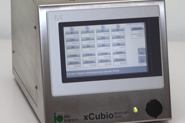 xCUBIO exhaust analysis for every bioreactors and fermenter