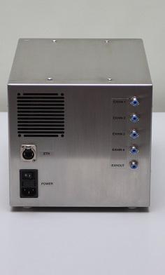 xCUBIO Bioreaktor und Fermenter Externe Abluftanalyse Anschlüsse