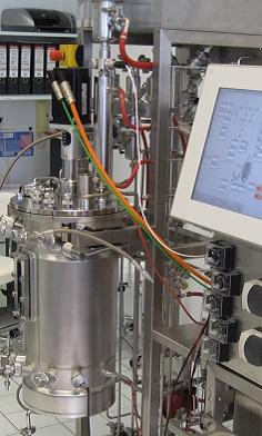 xCUBIO in-situ mit 30 Liter Fermenter, in-situ sterilisierbar