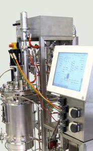 xCUBIO in-situ: SIP/CIP sterilisierbarer Bioreaktor 30 L