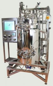 xCUBIO in-situ: SIP/CIP sterilisable bioreactor