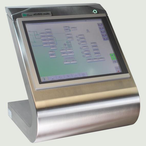 xCUBIO multi: Bioreactor Fermentor Control Terminal