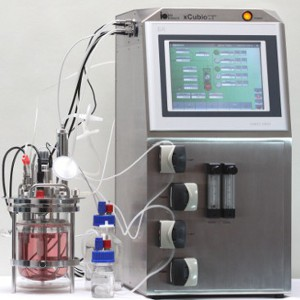 xCUBIO expandable control unit for bioreactors and fermenters