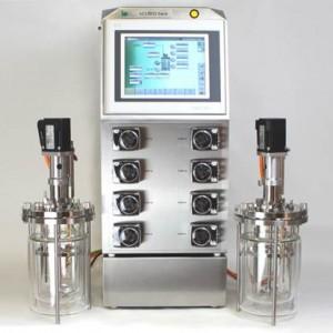 xCUBIO twin Bioreactor Fermentor