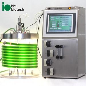 xCUBIO phar - Kleinster Rohr Photobioreaktor der Welt