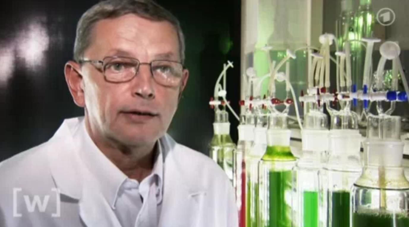 Prof. Dr. Dr. h.c. Otto Pulz_Microalgae Pioneer Scientist at IGV GmbH (c) ARD