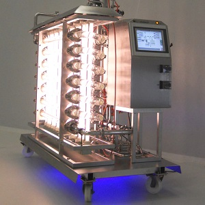 Steam Sterilizable Photobioreactors in-situ