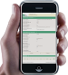 Probenahmesystem bioPROBE - HMI auf smart phone