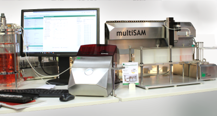 Aseptic sampling and filtered samples with bioPROBE single & multiSAM