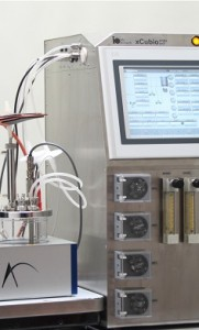 xCUBIO sub single-use disposable bioreactor ATMI Pall